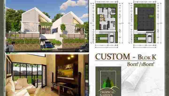 Villa di Tropical Garden Regency Sibolangit