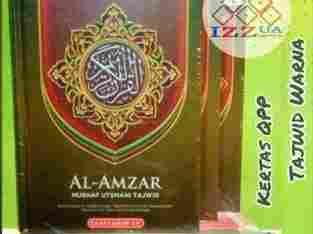 Best Seller Al-Qur'an Al-Amzar Tajwid warna A5