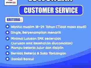 LOWONGAN CUSTOMER SERVICE BANTUL