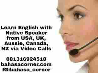 Bahasa Inggris Online dengan Native Speaker