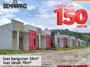 Rumah Murah Semarang, 150 juta