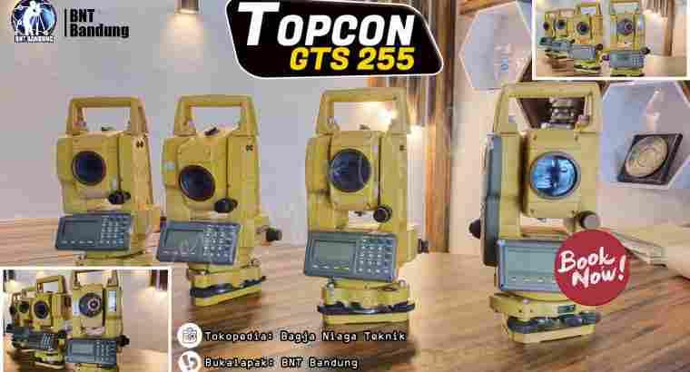 Total Station Topcon GTS 255 Bekas