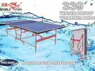 tenis meja ping pong merk DOUBLE FISH 339 OUTDOOR