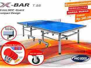 tenis meja ping pong merk X-BAR T88