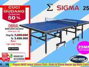 tenis meja ping pong merk SIGMA 25