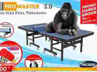 tenis meja ping pong merk PRO MASTER 3.0