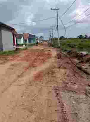tanah kaplingan handil bakti dekat terminal