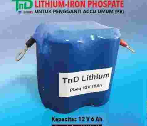 ACCU AKI MOTOR Lithium Iron Phospate