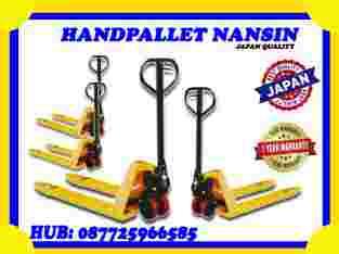 Jual Hand Pallet Nansin 2,5 Ton 3 Ton Surakarta