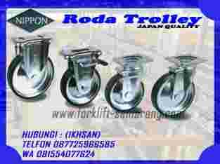 Roda Troley Nippon bahan Polyurethan Semarang