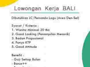 Lowongan Kerja Bali untuk Perempuan