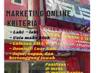 Lowongan Pekerjaan Marketing Online