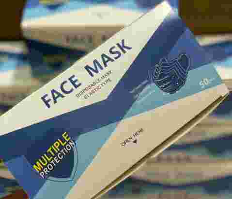 masker 3ply face mask grosir perbox isi 50pcs welcome reseller