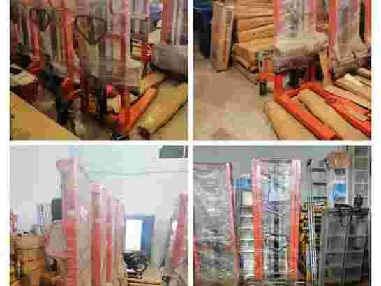 Stacker Hand Lift Hidrolik Manual 1 dan 2 Ton Murah di Surakarta