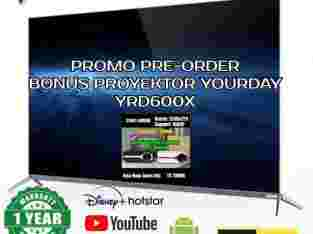 YOURDAY VOIR OLED TV 65 INCH 4K HDR SMART ANDROID VFTC-345