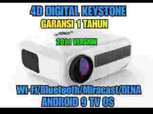 PAKET YOURDAY YRD900S GEN2 PROYEKTOR VRFC-276 Variasi:Putih, Hitam