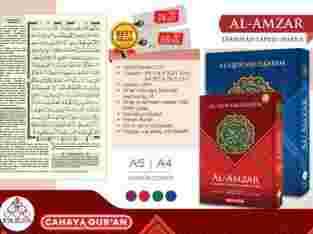 Al Amzar Terjemah Tajwid A5