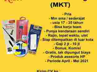 Lowongan Sales Marketing Asesoris HP
