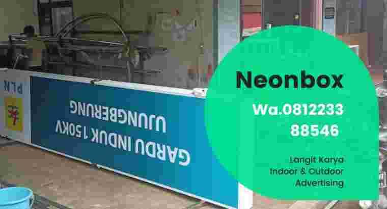 Huruf timbul lettersign neonsign signage neonbox billboard