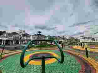 Hunian bernuansa Resort di Palembang
