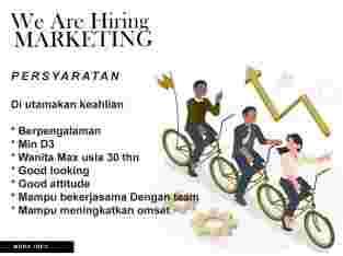 loker marketing salon