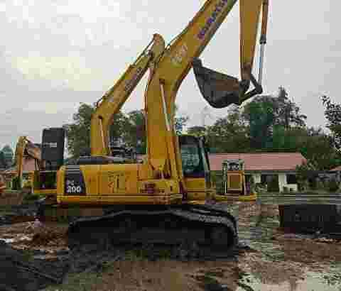 dijual excavator murah