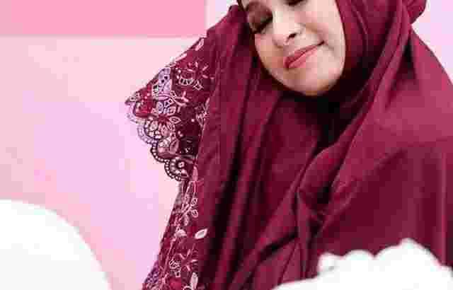 Mukena Siti Khadijah Dewasa Jumbo Pasteleena Bonus Tasbih dan Tas