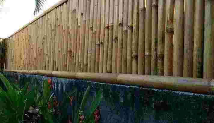 pagar bambu