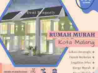 Rumah 2 Lantai di Malang Kota dekat UB Tombro