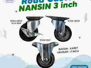 Roda Troli Karet 3 Inchi Nansin