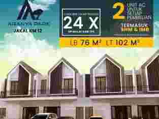Perumahan 2 lantai di jl kaliurang Yogyakarta