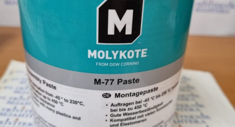 Molykote M77 Solid Lubricant Paste,dow corning mol