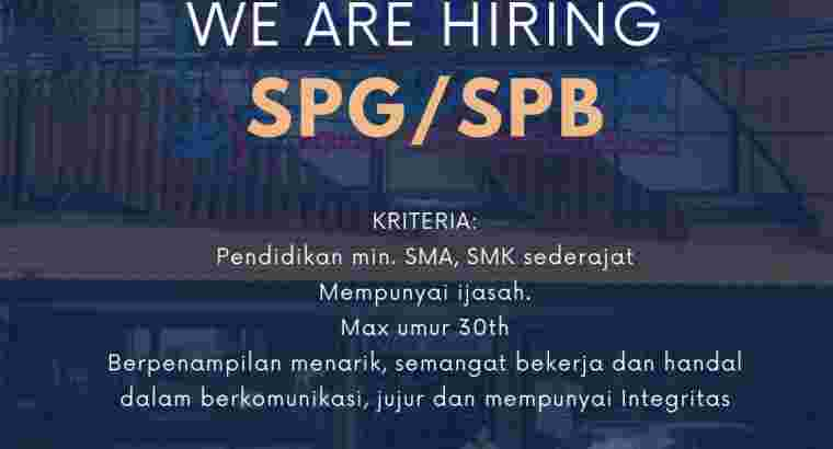 Loker SPG/SPB/Kasir Toko Bali Reef Aquarium