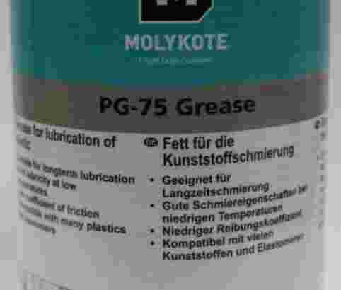 Molykote PG 75 grease plastic lubrication,molycote