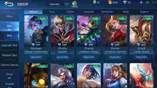 Akun Mobile Legends Murah
