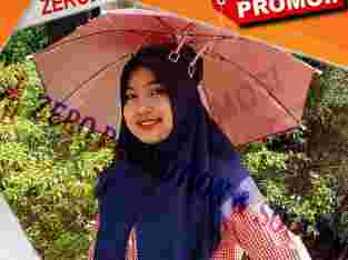 Souvenir Topi Payung Kepala – Headband Umbrella