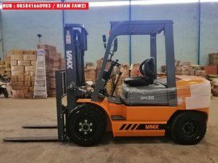 Forklift Diesel Mesin Isuzu 3 Ton 3 Meter di Demak