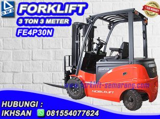 Forklift 3 Ton Noblelift SEMARANG HUBUNGI IKHSAN