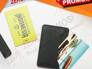 Packaging Flashdisk Kartu Leather Pouch Eksklusif
