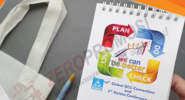 Sedia Paket Souvenir Seminar kit Eco Simple 2 Cust