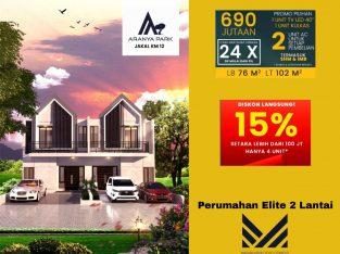 Perumahan Elite Jl Kaliurang Sleman, Aranya Park