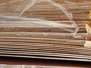 Triplek Plywood Melaminto Kilap / Glossy