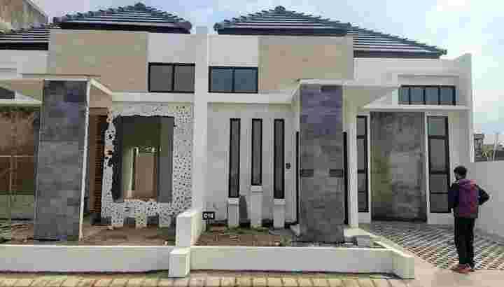 Rumah di Grand Andara Pinggir Jalan Pendem Batu