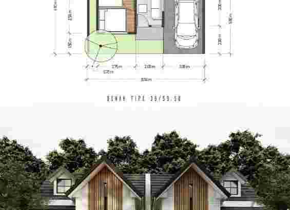 Promo Rumah Modern 1 Lantai di Sukun Kota Malang