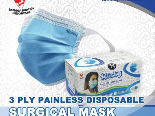 Masker Earloop Paintless Rosby