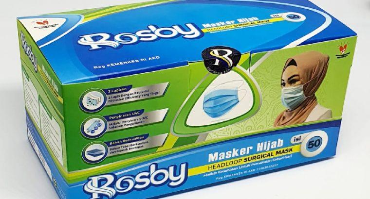 Masker Hijab Rosby