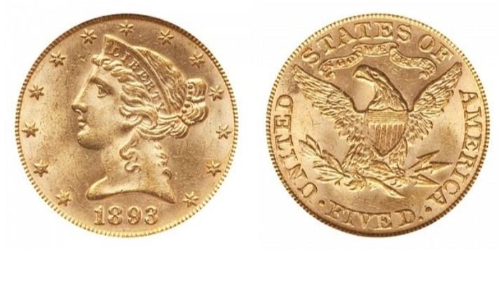 koin emas kuno Liberti