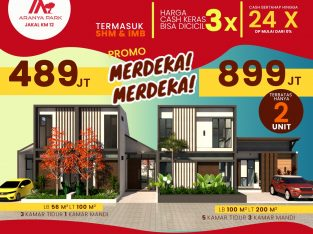 Rumah Harga 400 Jutaan, 3 kamar Tidur, Jakal Jogja