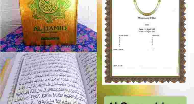 Al Quran sisipan untuk Tahlil
