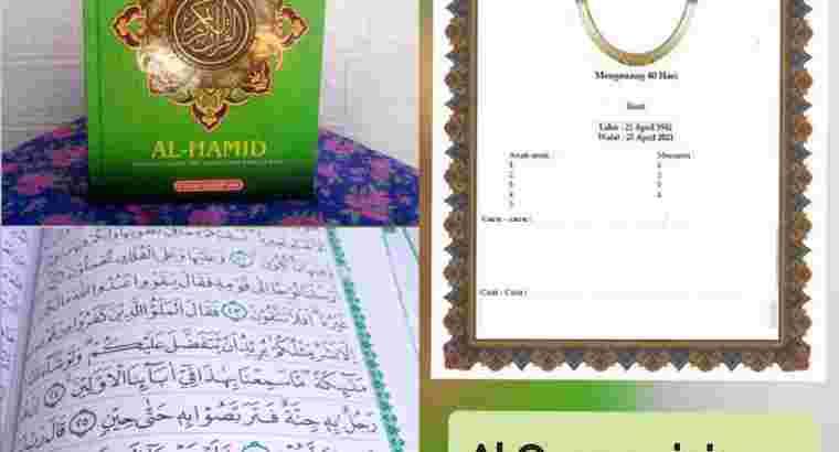 Al Quran sisipan untuk Tahlil A5